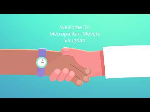 Best Metropolitan Moving Company in Vaughan, ON