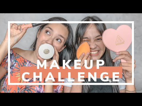 One Hand Makeup Challenge with REESE TAYAG!! + Getting Started on YouTube & Beauty Tips