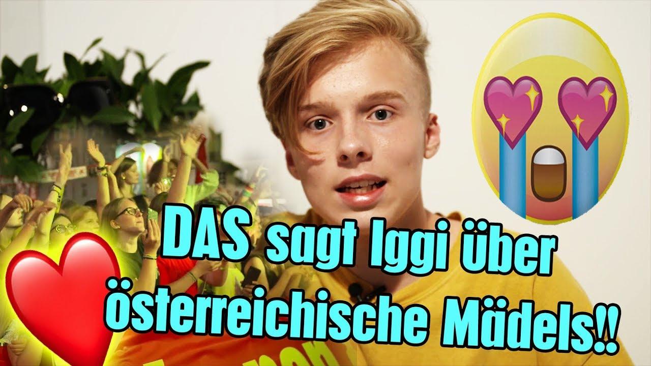 Das Sagt Iggi Kelly über österreichische Mädels Youtube