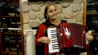 Exploring 5 Finger Piano Accordion Melodies in 6/8 Time  - Lesson 1 - Tarantella in A Natural Minor