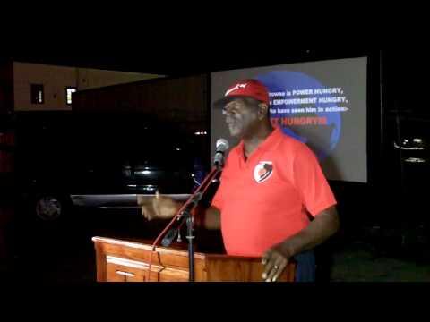 True Labour Meeting, Joseph Lane(Dayton Samuel)