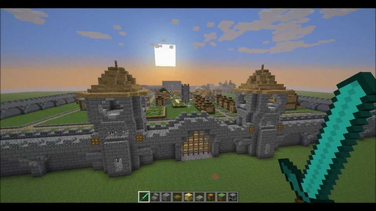 Minecraft Lets Build A Kingdom