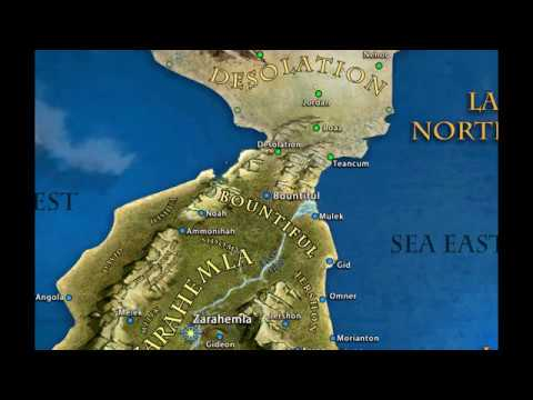 Book of Mormon Map and Geography