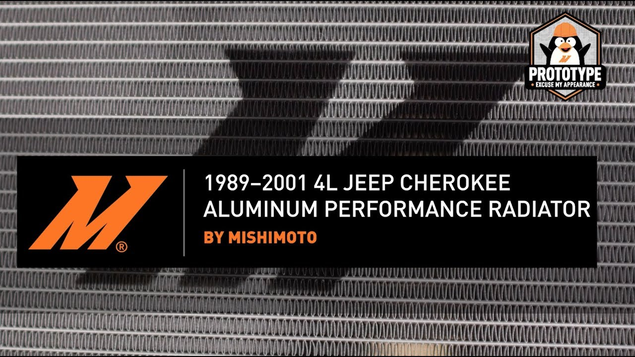 1989 2001 jeep cherokee xj performance aluminum radiator installation guide by mishimoto [ 1280 x 720 Pixel ]