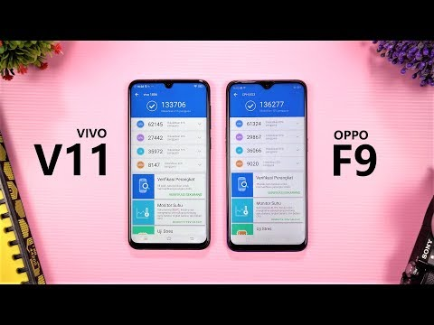 Speed Test Vivo V11 vs Oppo F9 Indonesia !