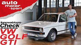 Innovations-Check VW Golf I GTI: Die Hot Hatch Review - Bloch erklärt #73 | auto motor & sport