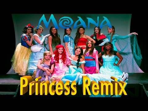 Moana - How Far I'll Go (Disney Princess Remix)