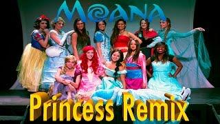 Moana - How Far I'll Go (Disney Princess Remix)