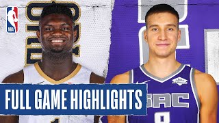 Pelicans At Kings Full Game Highlights | August 6, 2020