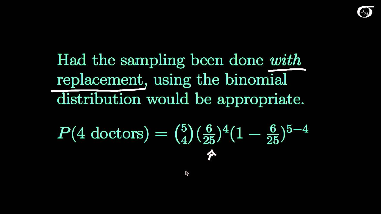 The Hypergeometric Distribution: An Introduction (fast version)