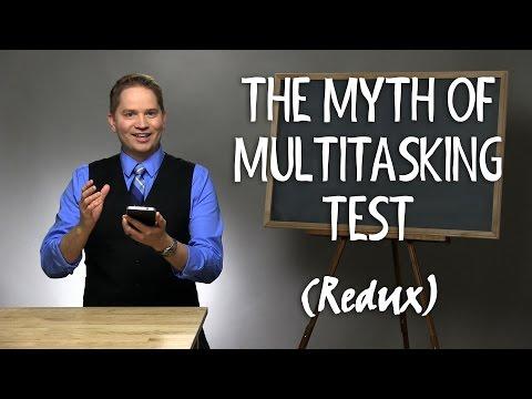 The Myth of Multitasking Test (NEW) - YouTube