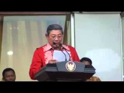 Presiden SBY berbicara dalam bahasa batak