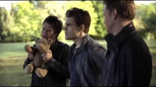 Дневники вампира   6 08   Деймон, Стефан и Рик обсуждают чувства Керолайн к Стеф