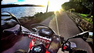 Exploring the Trossachs by Honda CRF250L - Episode 3: Part 2, The Dukes Pass to Stronachlacher
