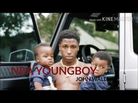 NBA Youngboy- John Wall (lyrics)