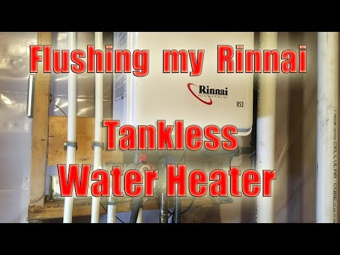 How to Flush a Rinnai R53i Tankless Water Heater with Vinegar