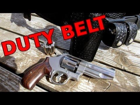 DUTY BELT for REVOLVERS