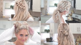 MY 10 FAVORITE EVERYDAY BRAIDED HAIRSTYLES!!