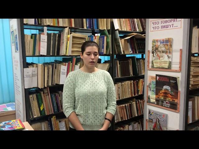 Изображение предпросмотра прочтения – АринаСмирнова читает авторское произведение «Мне нравится, что Вы больны не мной...» М.И.Цветаевой