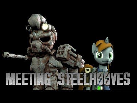 [SFM Ponies] Fallout: Equestria -  Meeting Steelhooves