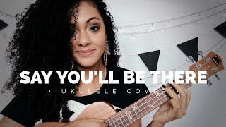 Say You'll Be There - Spice Girls (ukulele cover)   por Elisa Alecrin
