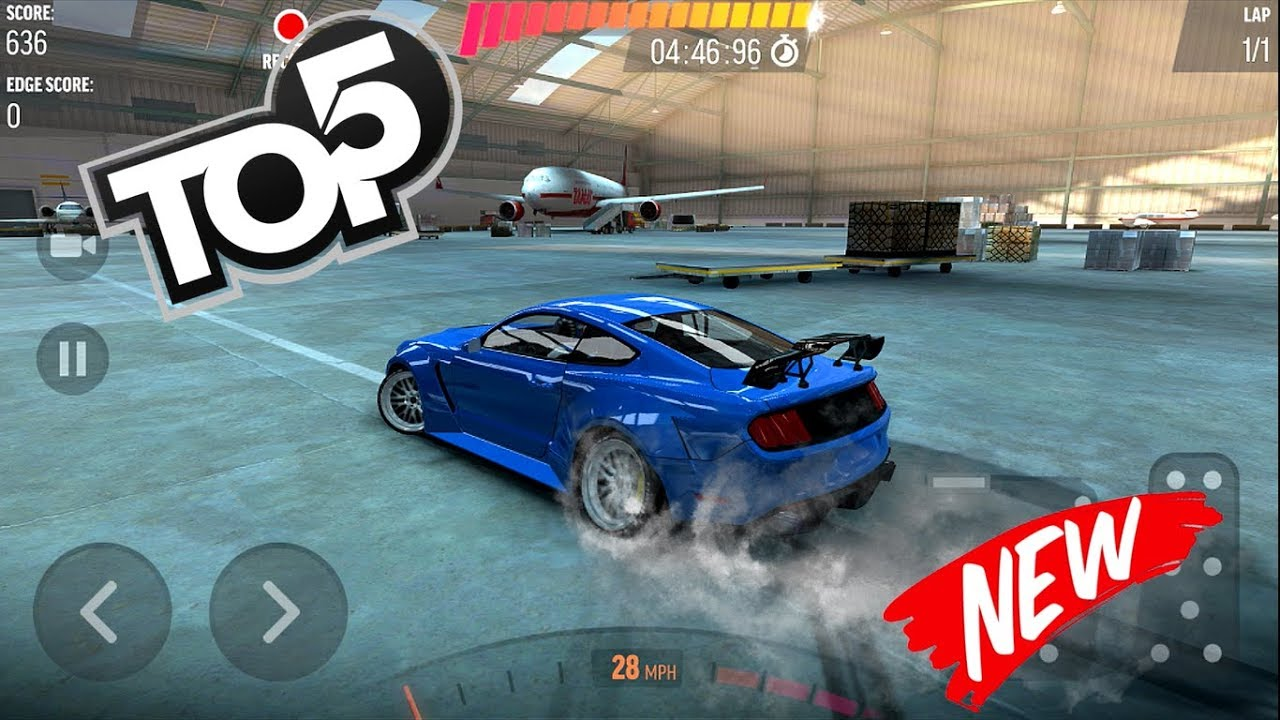 TOP 5 BEST CAR DRIFT GAMES Android & iOS 2018 #1