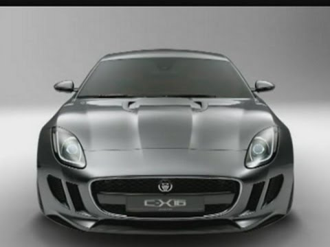 New concept Jaguar unveiled at the Frankfurt motor show