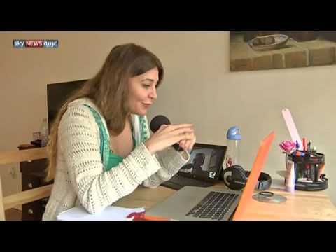 Sky News Arabia Interview with Honey Alsayed about Radio SouriaLi