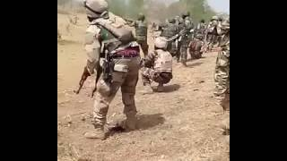 Nigerian Soldier  gunfight in sambisa Forest with Boko haram new video
