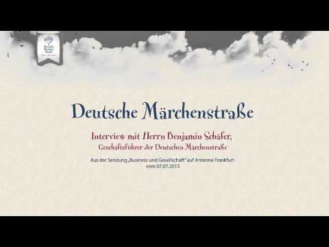 Deutsche Märchenstraße - Interview mit Herrn Benjamin Schäfer