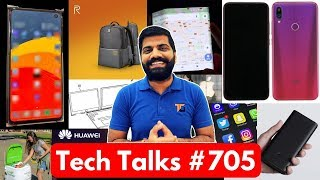 Tech Talks #705 Xiaomi Folding Phone, Samsung S10 Photo, Kia AI, Realme Backpack, Dual Laptop Dell