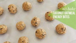 No Bake Coconut Oatmeal Energy Balls | Malarayofsunshine