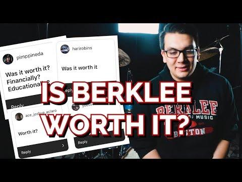 IS BERKLEE WORTH IT?!?! // Q&A on Berklee College of Music