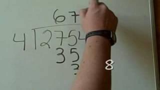 Divisiones sencillas con y sin punto decimal