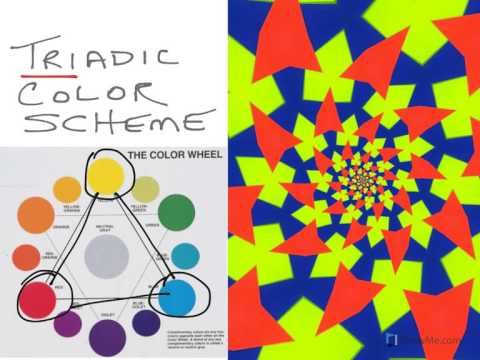 Analogous Color Schemes triadic colors - standard color scheme - youtube