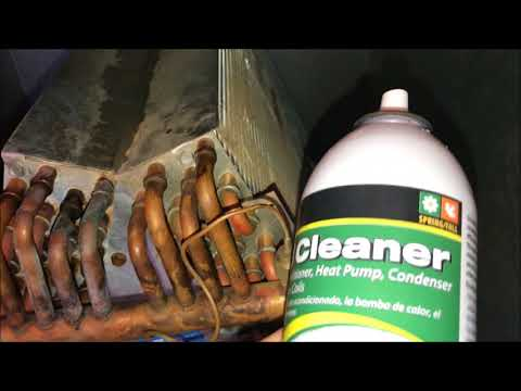 How to Clean Inside AC Evaporator Coils - Freezing Up