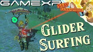 Glider Surfing! Breath of the Wild