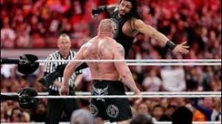 WWE Wrestlemania 31 Brock Lesnar vs Roman Reigns Full Match HD