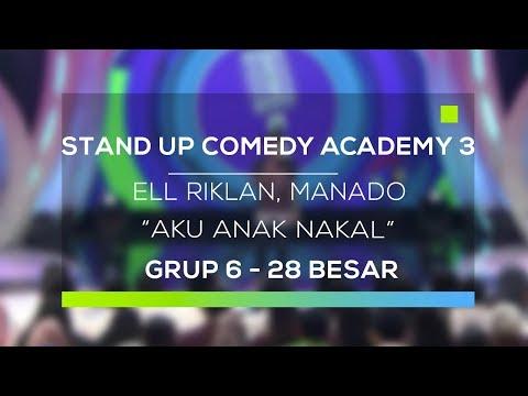 Download Youtube: Stand Up Comedy Academy 3 : Ell Riklan, Manado - Aku Anak Nakal