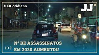 Nº DE ASSASSINATOS EM 2020 JÁ SUPERA TODO O ANO PASSADO