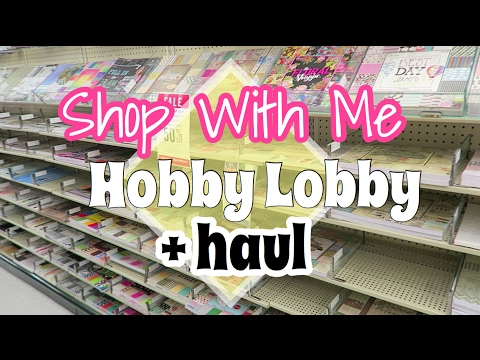 SHOP WITH ME | HOBBY LOBBY HAUL | I'm A Cool Mom