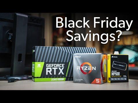 Ryzen 5 3600? NVMe SSD? RTX 2080 Ti? - Expected Black Friday savings