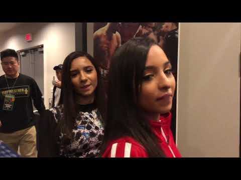 Boxer Danny Garcia - Twin Sisters After Fight
