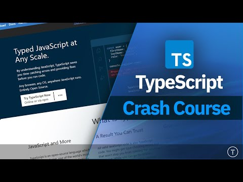 TypeScript Crash Course 2021