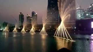 Whitney Houston - I'll Always Love U (DXB Fountain)