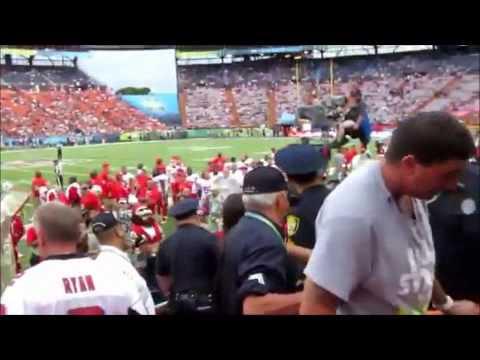 2013 Pro Bowl Insane Fight