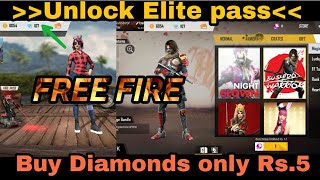 FREE FIRE Elite Pass buy it now for 10rs  easy way!! Tamil | TRICKY TAMIZHA |