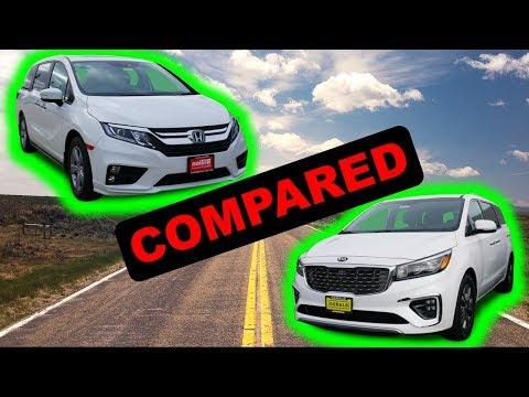 2020 Honda Odyssey Vs 2020 Kia Sedona | Can Kia Take Down The Mighty Odyssey?