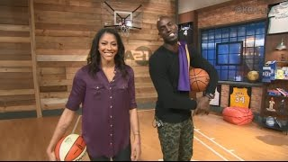 Candace Parker Talks Hoops, Pat Summit, and NBA on Area 21