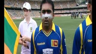 The Sri Lankan & Australian National Anthems at The Cricket One Day Finals